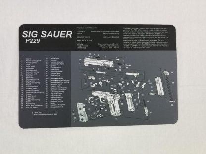 Sig Sauer P229 Pistol Build Mat