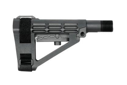 SBA4 Pistol Stabilizing Brace Collapsible AR-15 Black