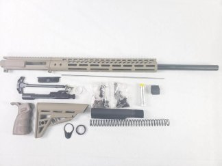 "24"" FDE rifle build kit -223 wylde"