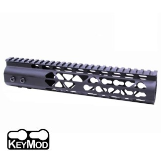 10″ AIR LITE KEYMOD FREE FLOATING HANDGUARD WITH MONOLITHIC TOP RAIL