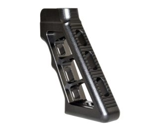 Skeletonized AR Rear Pistol Grip, BLACK