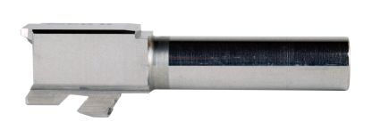 9MM Glock 26 Replacement Barrel | Stainless Steel | UNTHREADED | UNBRANDED