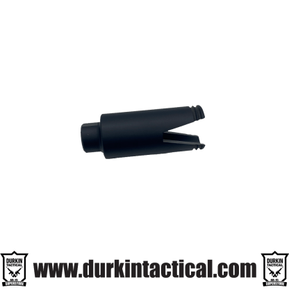 AR-15 Slim Line 'Sharkmouth' Flash Can | Black