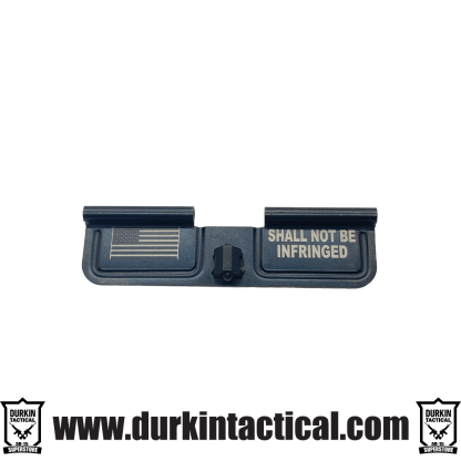 Durkin Tactical Custom Dust Cover | Shall Not Be Infringed + Flag