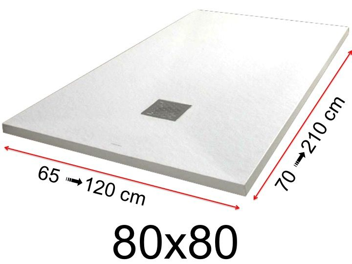 duschwanne 80x80 cm 800x800 mm