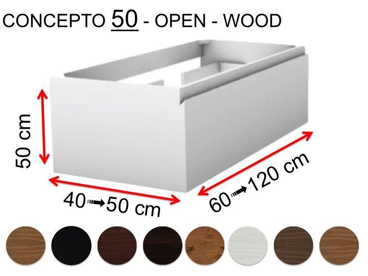 el concepto 50 open wood