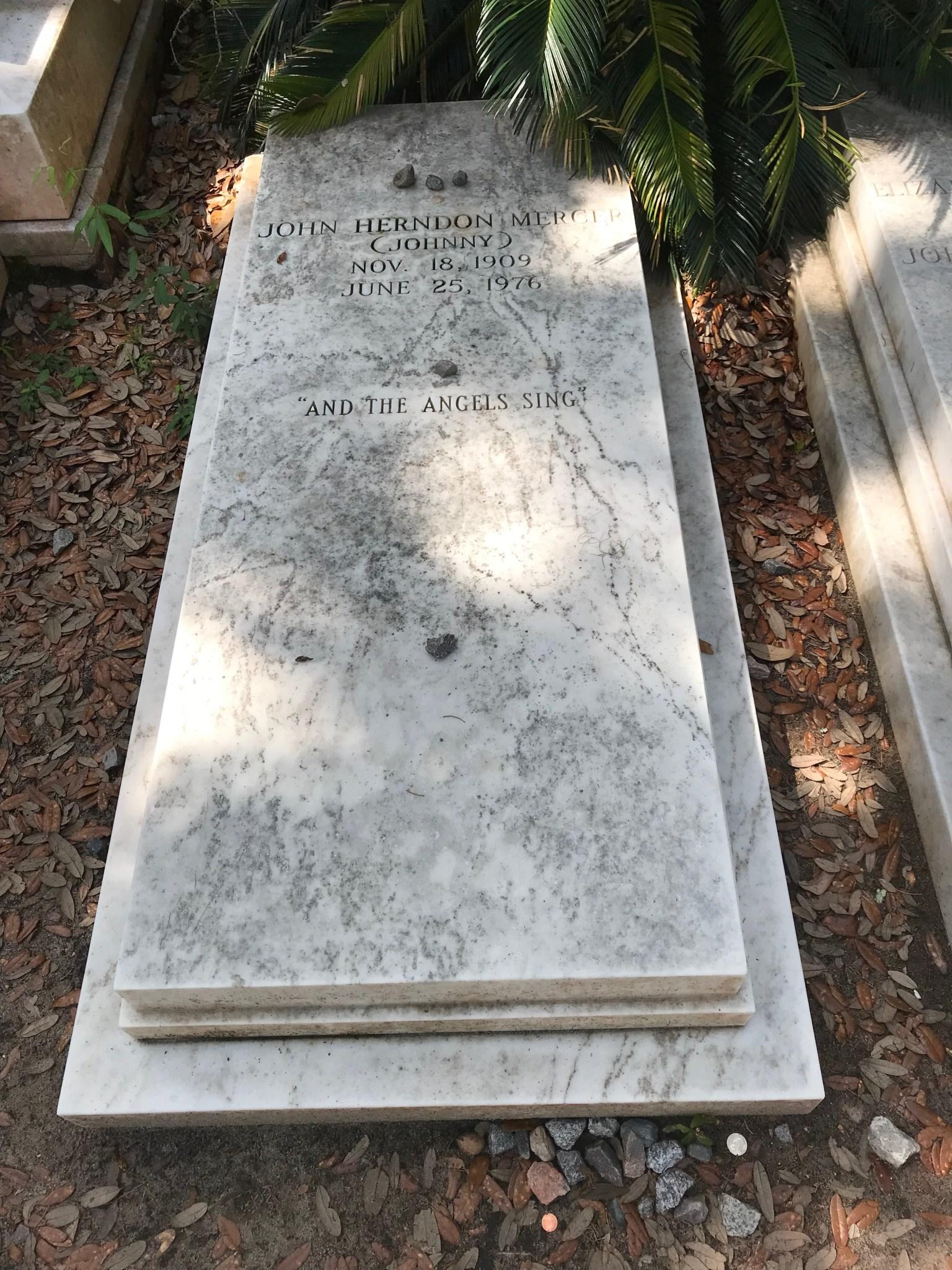 Johnny Mercer Boneventure Cemetery