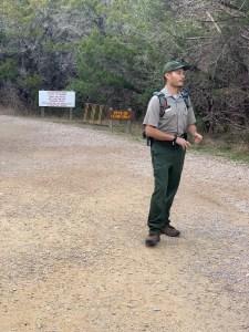 Pedernales Falls Ranger Steven