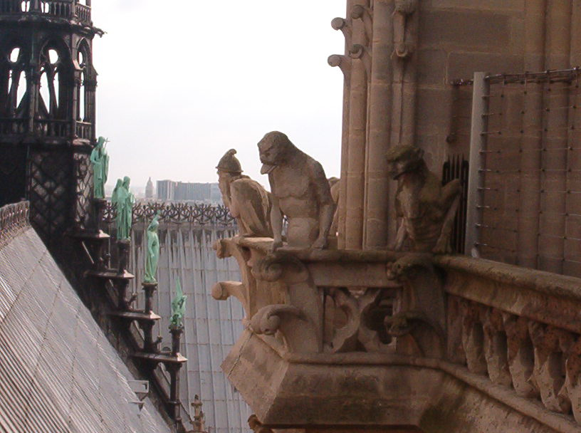 Notre-Dame Spire Statues 2003