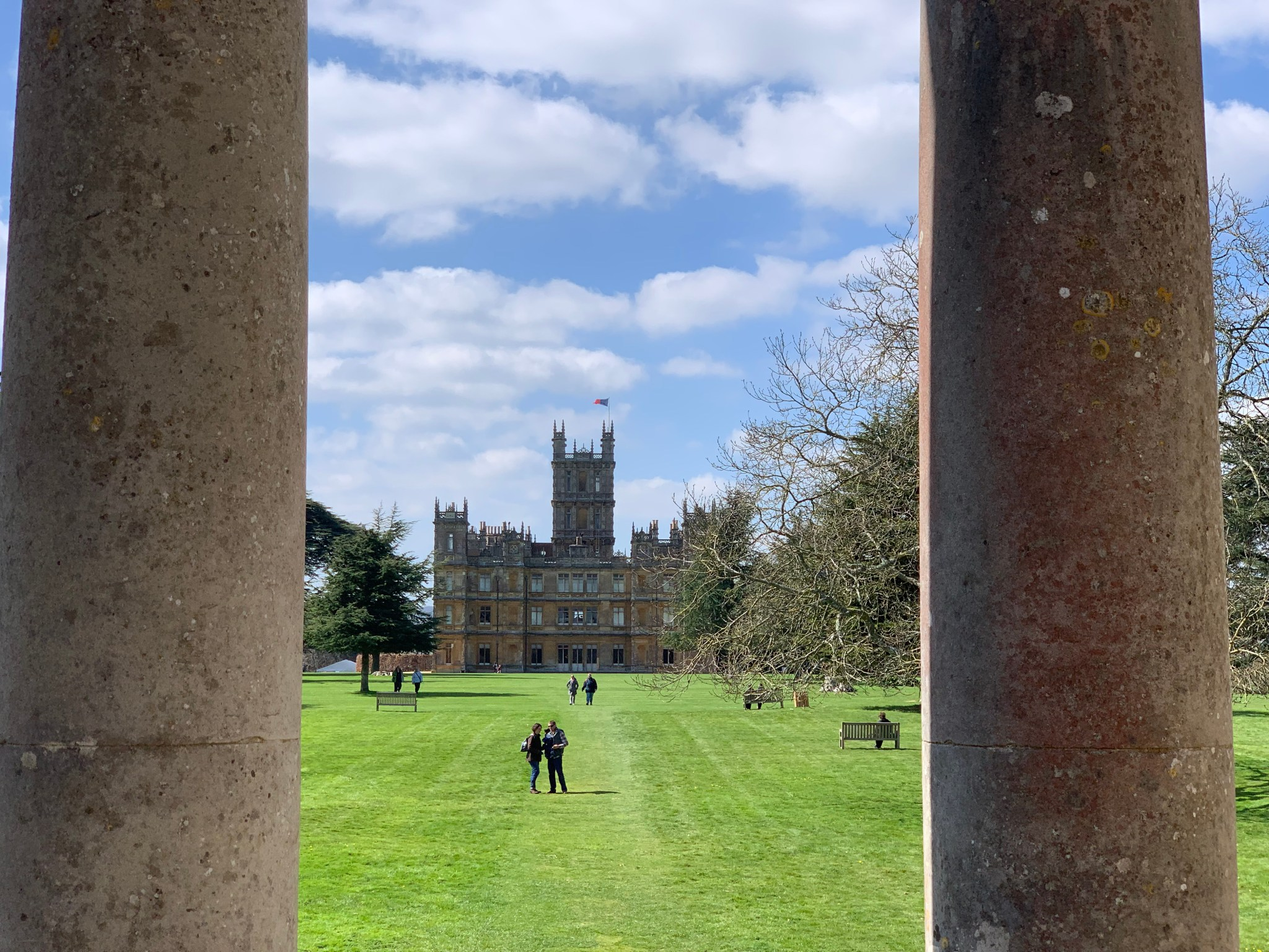 Highclere Castle from Jackdaws