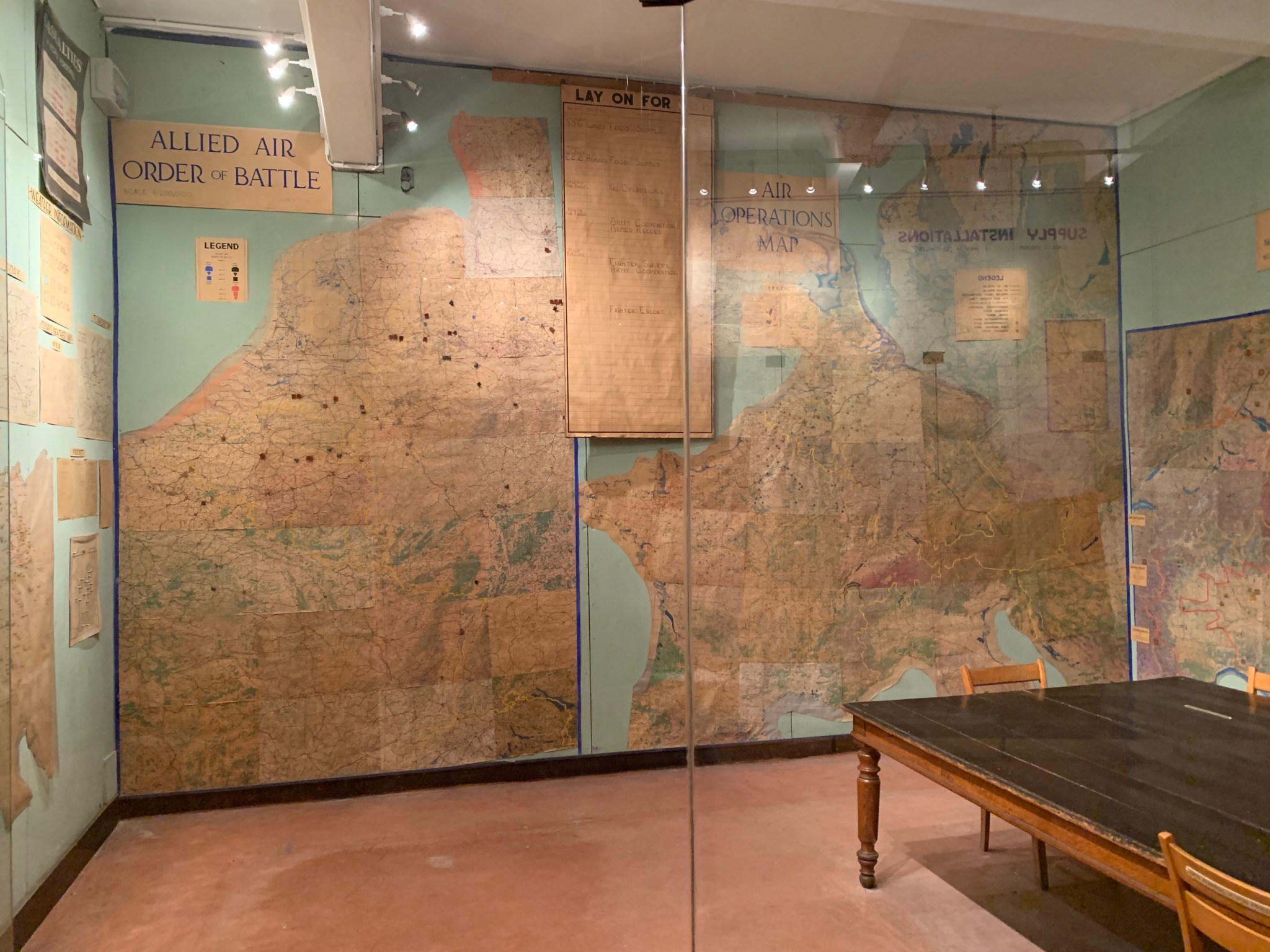 Surrender Museum maps