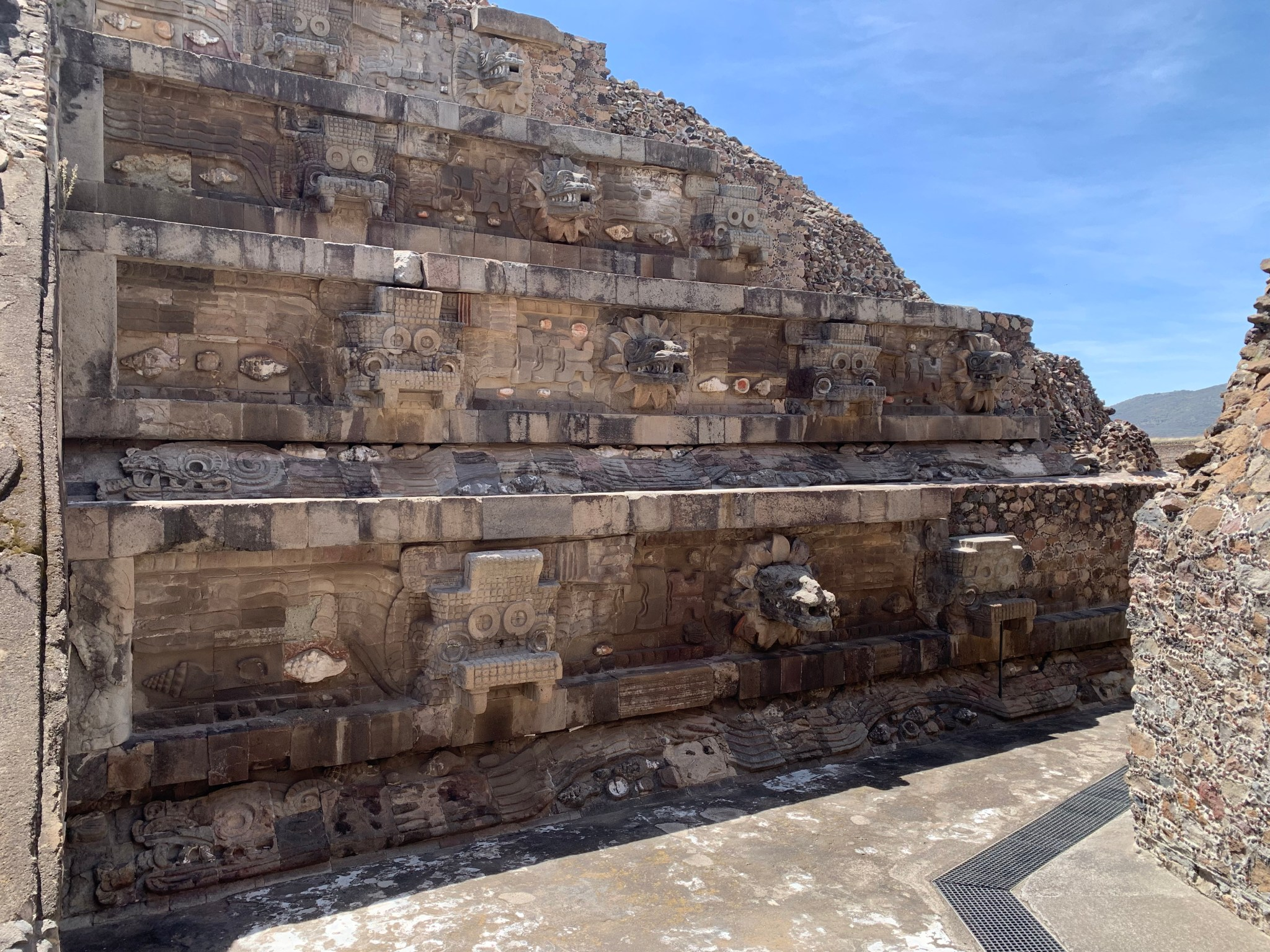 Teotihuacan Temple of the Feathered Serpent
