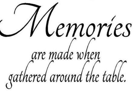 MemoriesAroundTheTable