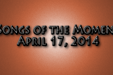 Songs of the moment graphic