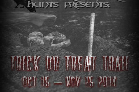 Nevermore Trick Or Treat Trail 2014 - Tales Of Horror Banner