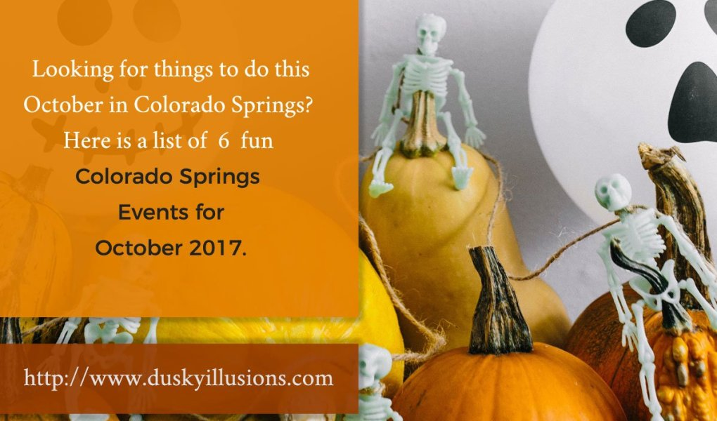 Colorado Springs Events For October 2017