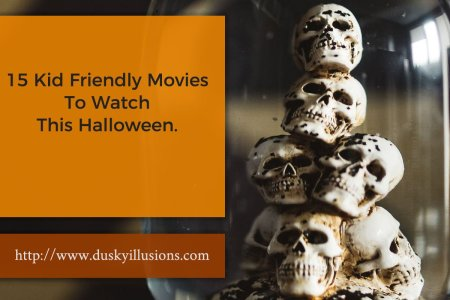15 Kid Friendly Movies for Halloween