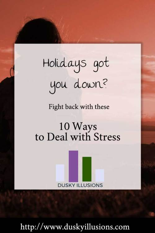 10 ways to deal with stress this holiday season