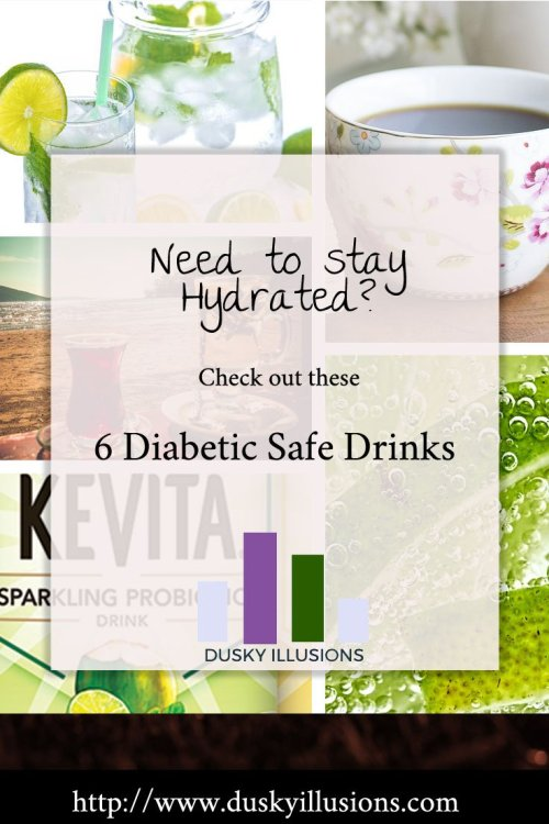 6 Diabetic Safe Drinks
