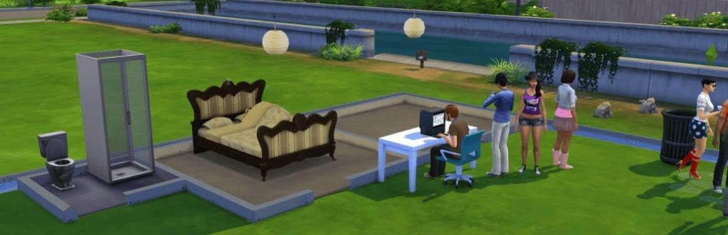 Sims 4 Island Challenge