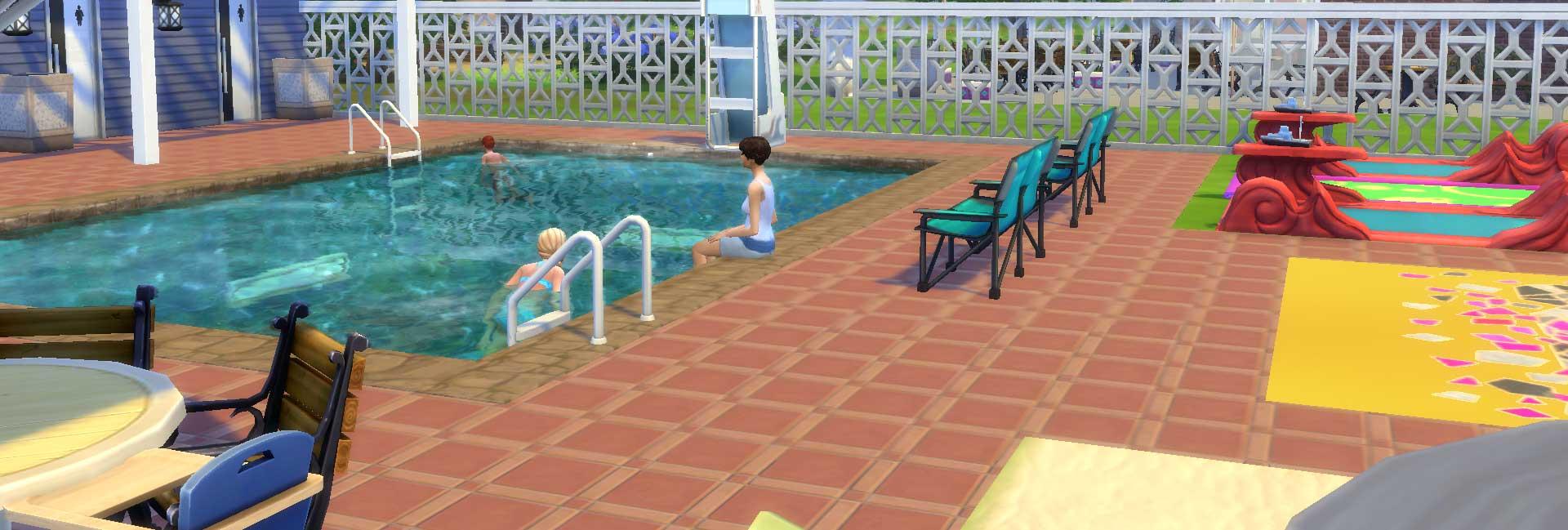 Sims 4 Community Pool - Newcrest | Bri K's Dusky Illusions