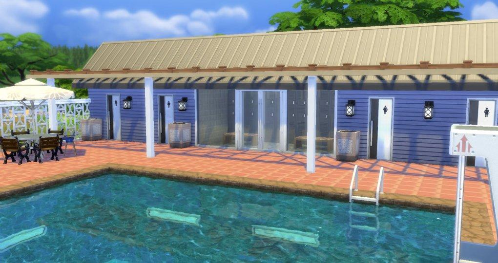 Sims 4 Community Pool