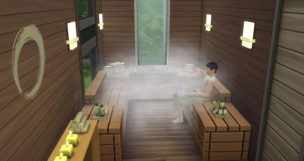 Sims 4 Spa