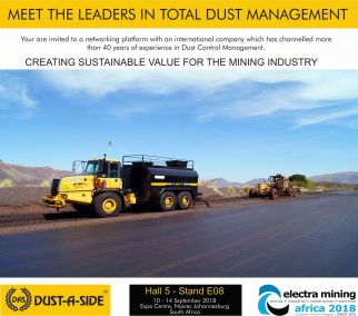 Electra Mining Invitation 2018 Invitation to DAS Stand (new post)