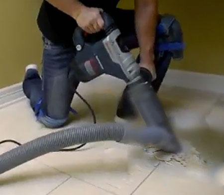 tile removal in paris tx dust commander