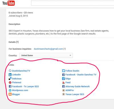 youtube for lawyers