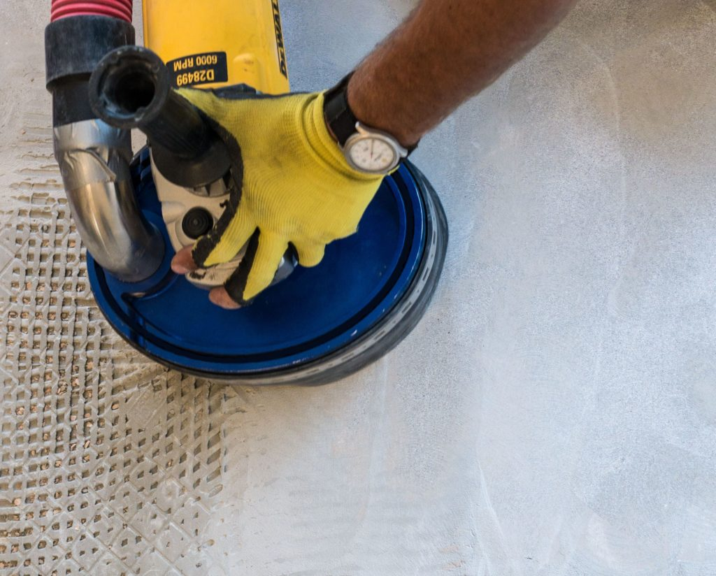 how to remove thinset dust free the