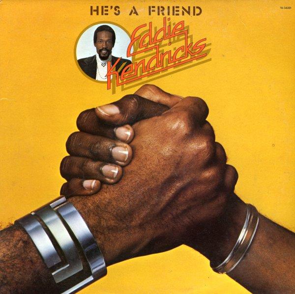 Eddie Kendricks Hes A Friend LP Vinyl Record Album