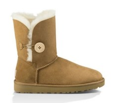 BOTTES UGG BAILEY BUTTON II CHESTNUT