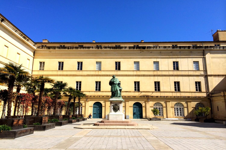 AJACCIO CENTRE VILLE PLAGE BLOG VOYAGE ROAD TRIP CORSE PALAIS FESCH MUSEE