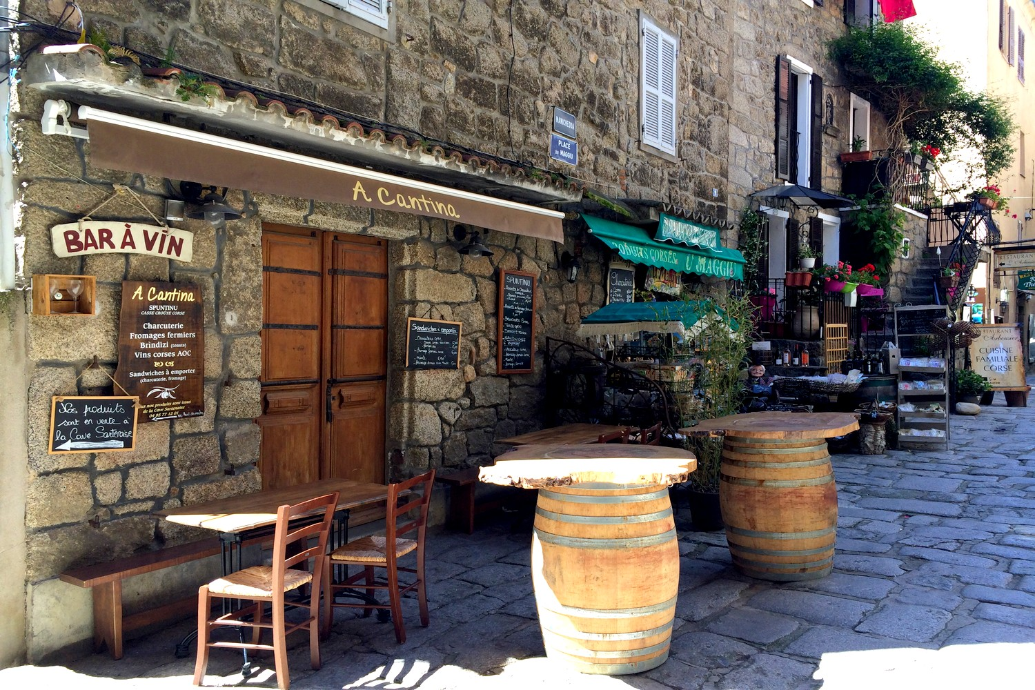 SARTENE VILLAGE CORSE BLOG VOYAGE ROAD TRIP