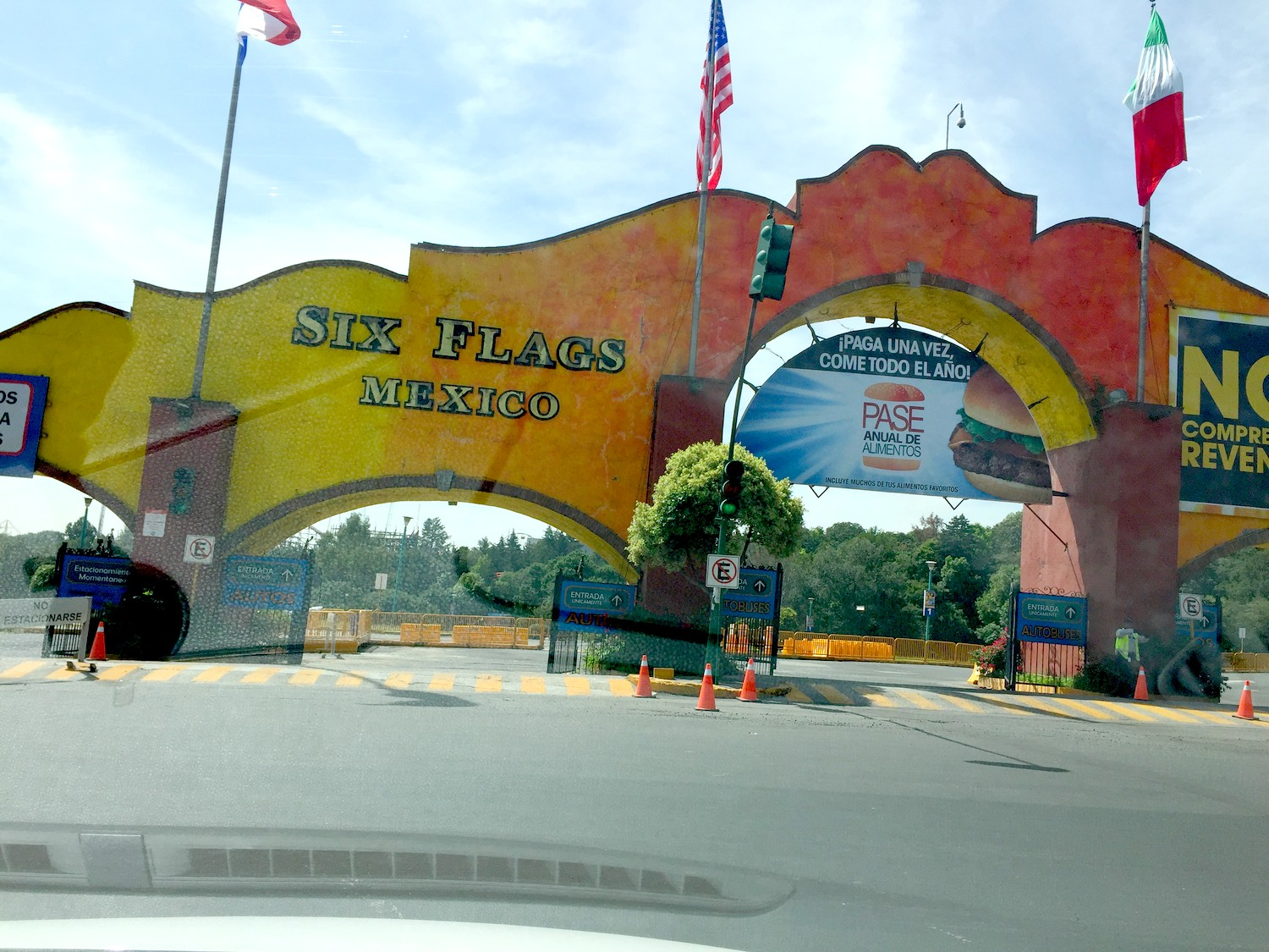 road-trip-mexique-mexico-six-flags-parc-dattraction-blog-voyage