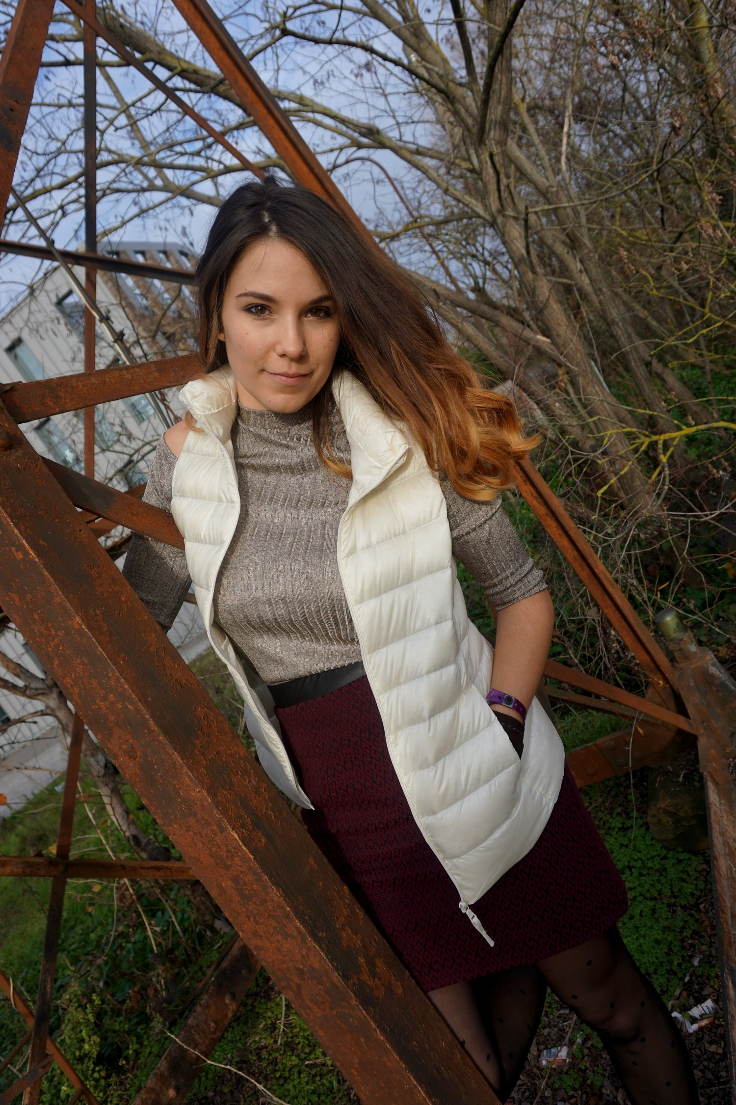 LOOK CHIC DECONTRACTE BORDEAUX PONT CHABAN DELMAS BLOG MODE LIFESTYLE UNIQLO LONGCHAMPS NAF NAF 07