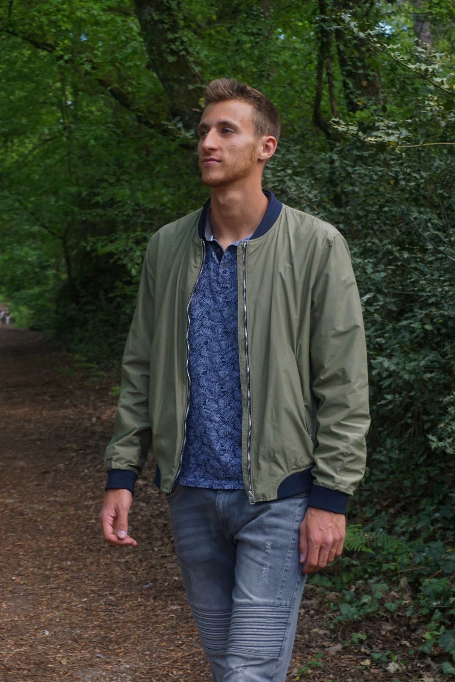 LOOK SPORTWEAR CHIC HOMME BOMBER ZARA PRINTEMPS BLOG BORDEAUX MODE LIFESTYLE 07