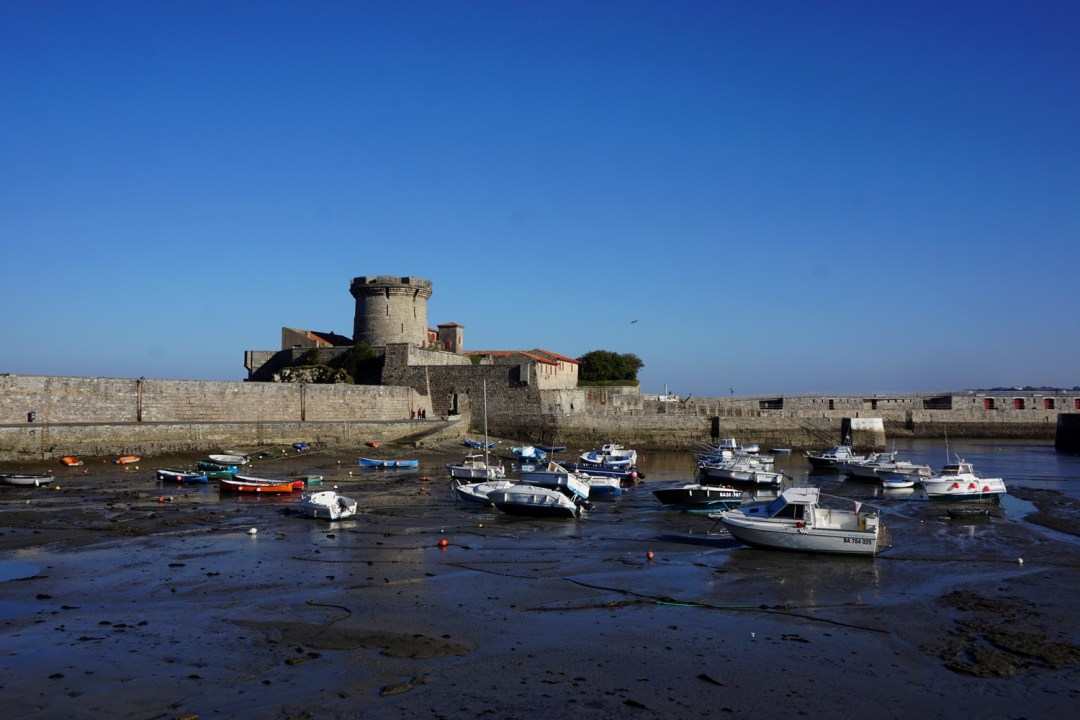 Du talon au crampon de ciboure socoa pays basque - Fort de socoa ...