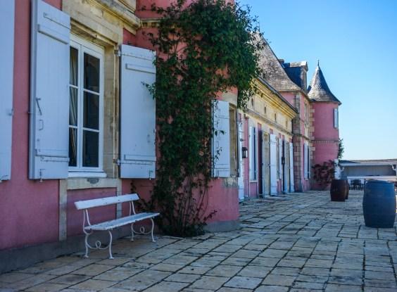 Visite du château de Loudenne (Médoc)