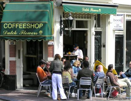 Coffeeshop Dutch Flowers, Amsterdam