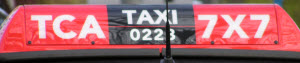 TCA Amsterdam taxi rooflight