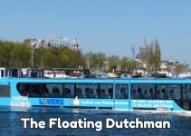 amphibious bus canal tour in Amsterdam