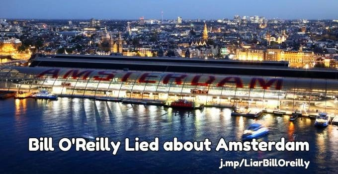 Bill O'Reilly Amsterdam