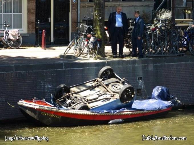 car in boat
