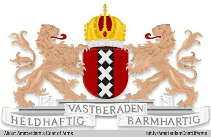 Amsterdam Coat of Arms and flag: meaning of the 3 X's