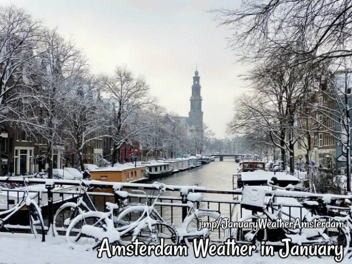 Amsterdam Weather In January Dutchamsterdam Com