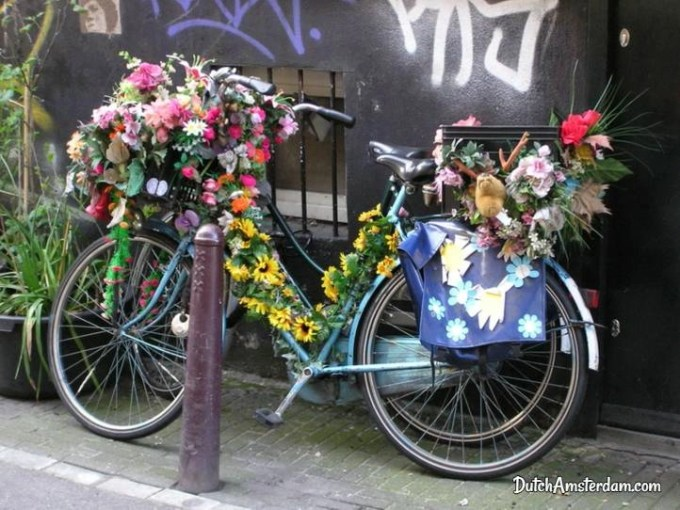 decorated bicycle