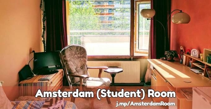 Amsterdam student room rent
