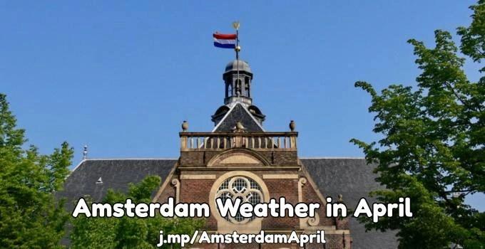 Amsterdam April weather forecast